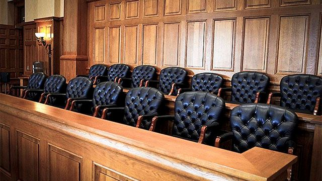 This is a jury box