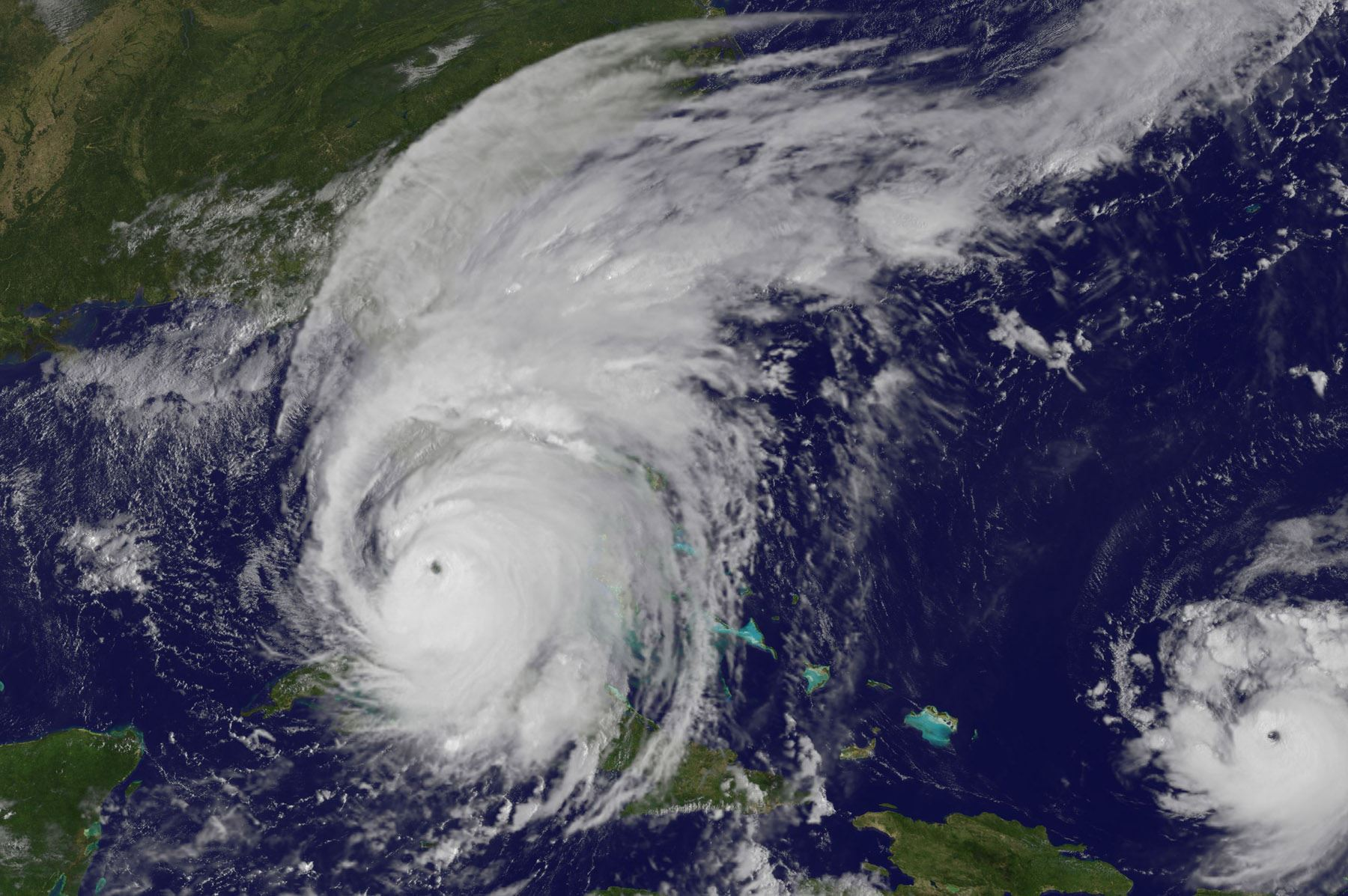 Satellite Image of a Hurricane from NASA